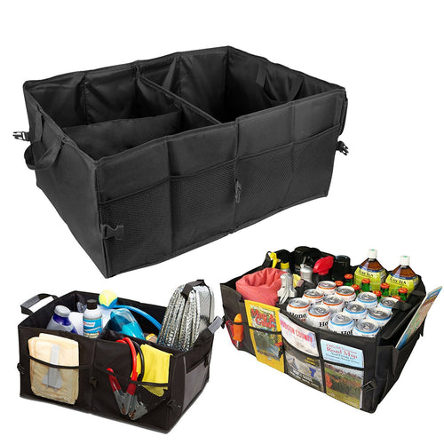 Car Trunk SUV Cargo Organizer Foldable Collapsible Multipurpose Storage Container Box Bag Tool Case
