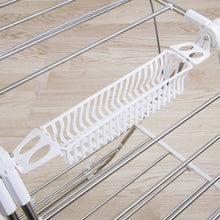 Load image into Gallery viewer, Buy heavy duty laundry drying rack stainless steel clothing shelf for indoor and outdoor use best used for shirts pants towels shoes by everyday home