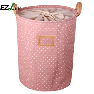 Waterproof Laundry Hamper Bag Colorful Clothes Storage Baskets Home Clothes Barrel Kids Toy Storage Laundry Basket ZH01264