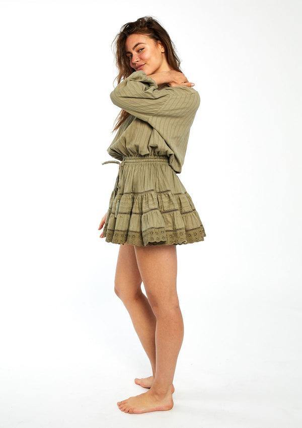 Bowie Mini Ruffle Dress