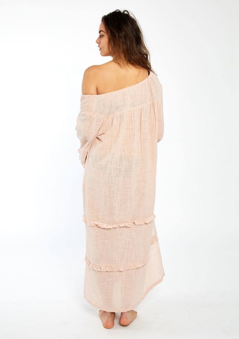 Coco Maxi Ruffle Dress