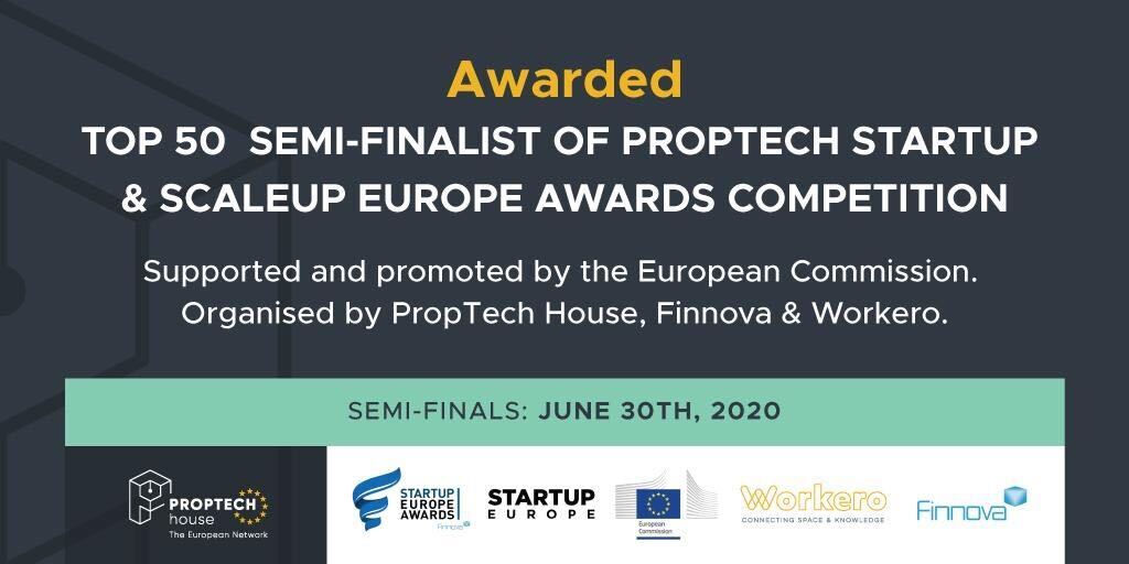 Top 50 EUROPE Awards PropTech