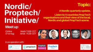 21st August: Nordic PropTech Quarterly webinar on the
