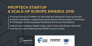 PropTech StartUp & Scale-Up Europe Awards 2019-20