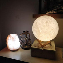 Load image into Gallery viewer, 3D Moon Lamp - Night Light for Creative Gift