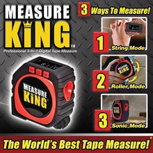 Load image into Gallery viewer, Measure King - 3 in 1 Measuring Tape