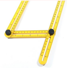 Load image into Gallery viewer, Multi-Angle Measuring Ruler