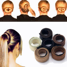 Load image into Gallery viewer, Magic DIY Hair Bun Maker - Purais Instant Hair Bun