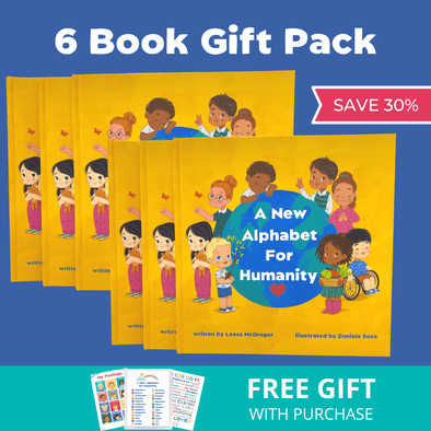 A New Alphabet for Humanity 6-BOOK GIFT PACK ➡️ SAVE 30%