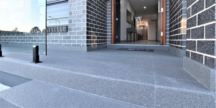 #86 - External: Outdoor patio area with the perfect colour vitrified tile