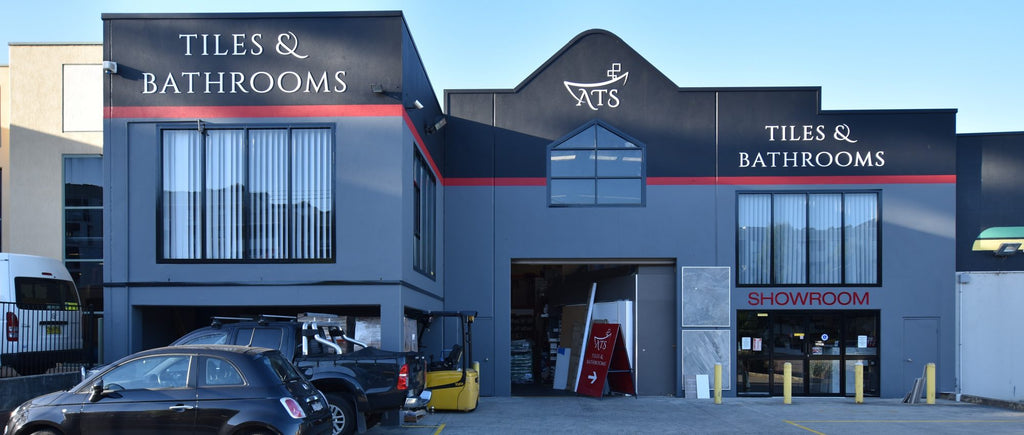 The ATS Tiles and Bathrooms Showroom in Sydney