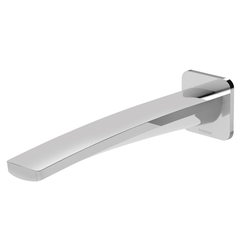 Phoenix Mekko Wall Bath Outlet 200mm | Chrome |