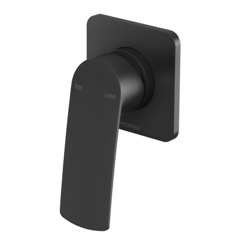 Phoenix Mekko Wall Shower / Bath Mixer | Matte Black |