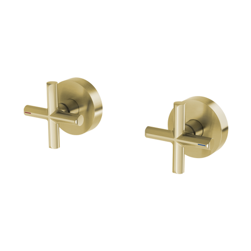 Phoenix Vivid Slimline Plus Wall Top Assemblies | Brushed Gold |