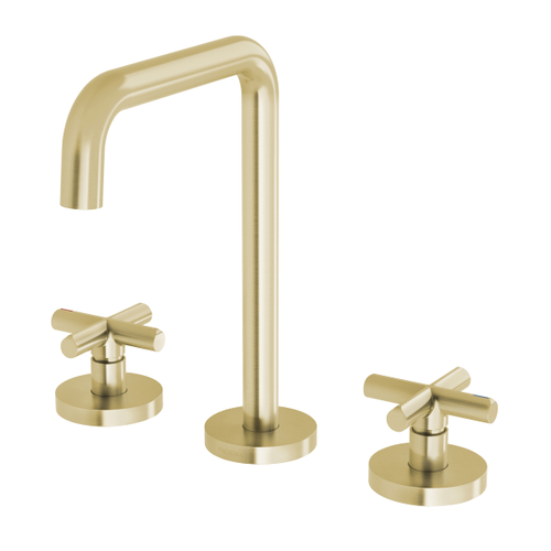 Phoenix Vivid Slimline Plus Basin Set | Brushed Gold |