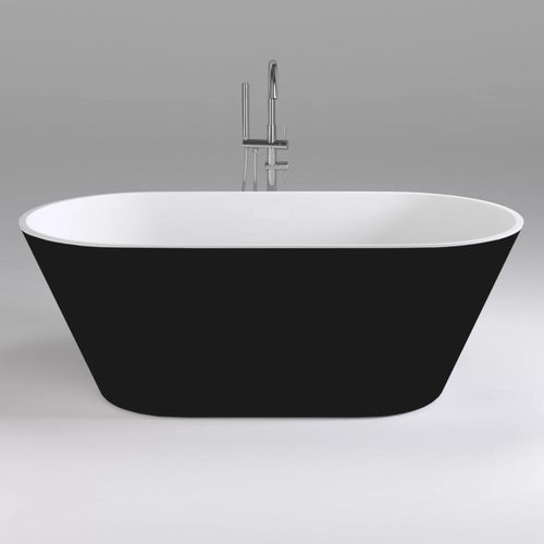 21A93B_-_Brighton_Freestanding_Oval_Bath_Black_and_White_720x