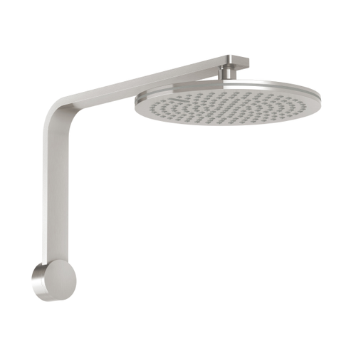 Phoenix NX Quil Shower Arm and Rain Shower Rose | Brushed Nickel |