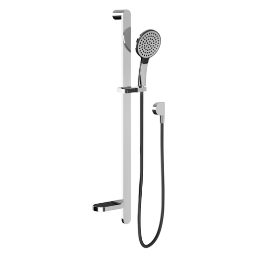 Phoenix NX Quil Rail Shower | Chrome and Black |