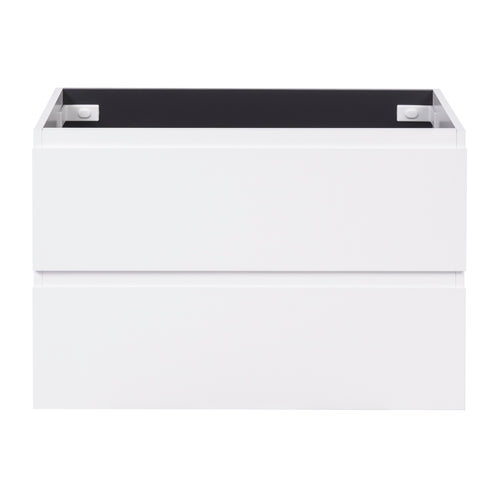 Alles Plus 900mm Wall Hung Vanity Cabinet | Satin White |
