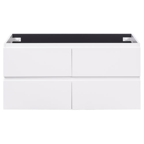 Alles Plus 1200mm Wall Hung Vanity Cabinet | Satin White |