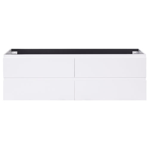 Alles Plus 1800mm Wall Hung Vanity Cabinet | Satin White |