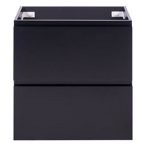 Alles Plus 750mm Floor Standing Vanity Cabinet | Satin Black |