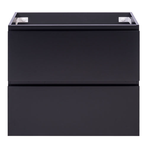 Alles Plus 900mm Floor Standing Vanity Cabinet | Satin Black |