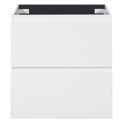 Alles Plus 750mm Floor Standing Vanity Cabinet | Satin White |
