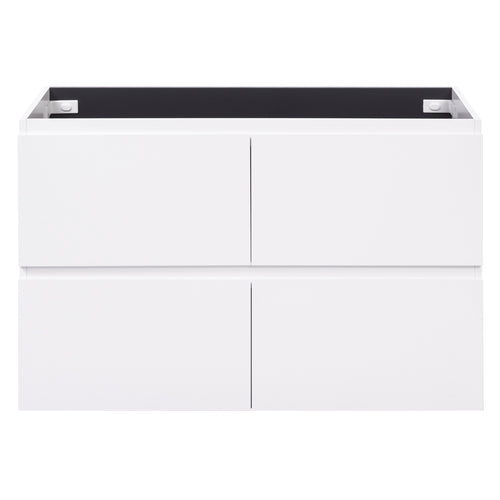 Alles Plus 1200mm Floor Standing Vanity Cabinet | Satin White |