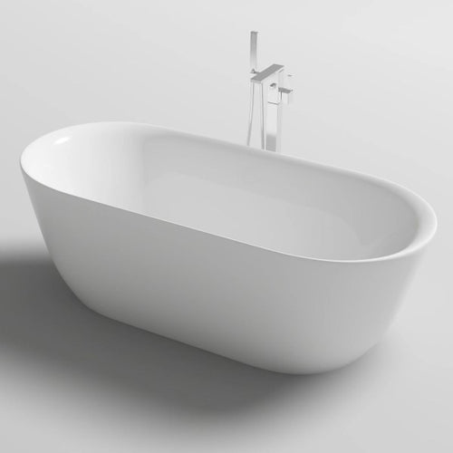 Amoroso 1700mm Freestanding Bath | Gloss White |