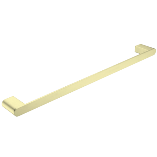 Bianca Single Towel Rail 800mm | Brushed Gold |