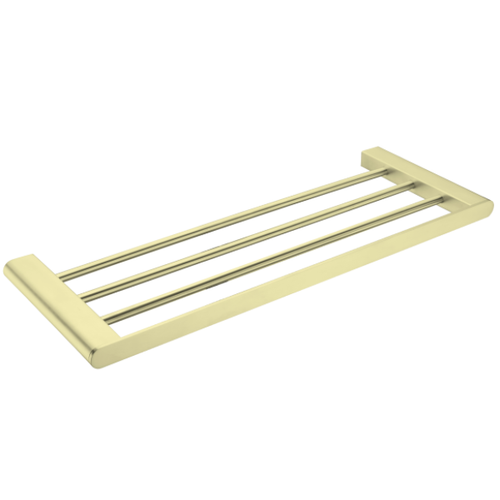 Bianca Towel Rack | Brushed Gold |