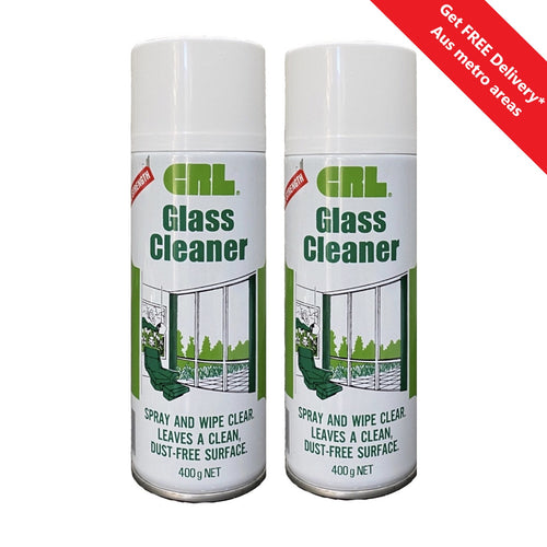 CRL Professional Glass Cleaner 400g Can - 2 Pack
