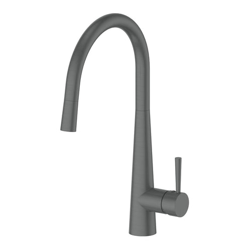 Galiano Pull-Down Sink Mixer, Gunmetal Grey