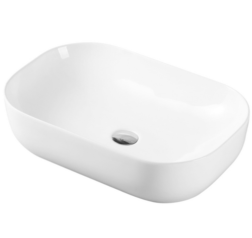 Julio 641B Above Counter 600mm x 400mm Basin | Gloss |