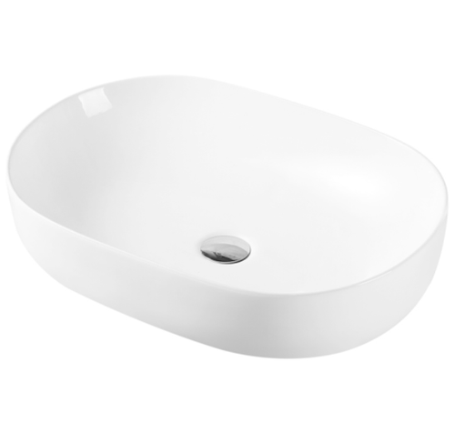 Julio 641 Above Counter 600mm x 415mm Basin | Gloss |