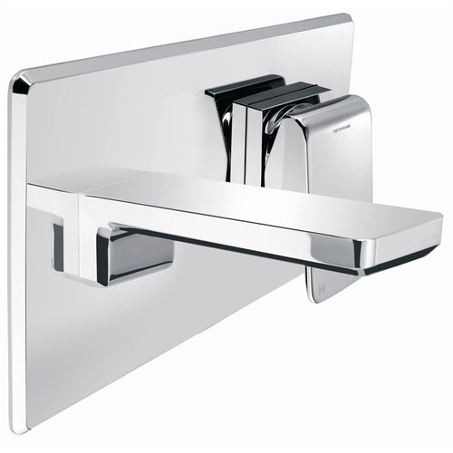 Methven Kiri Wall Mounted Basin Mixer with Metal Plate 01-5092 | Chrome |