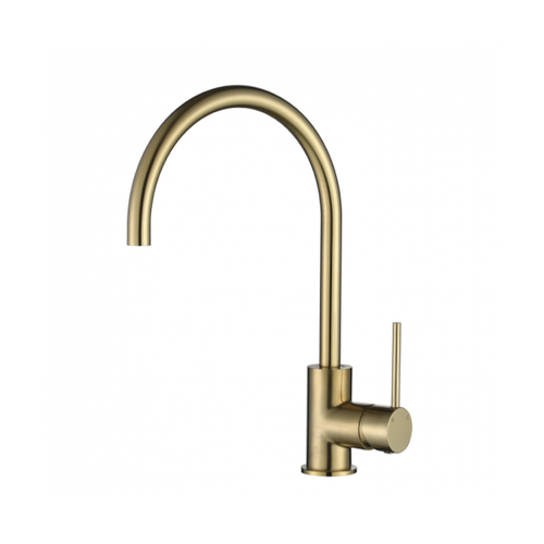 MN Round Kitchen or Basin Sink Mixer Pin Handle | Brushed Bronze |