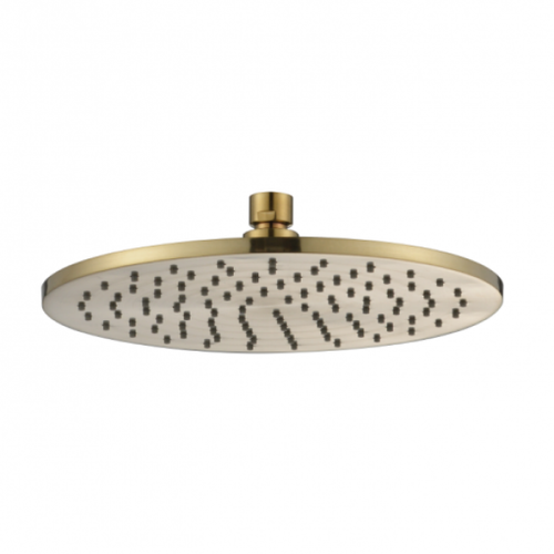 MN Round 250mm Rain Shower | Brushed Bronze |