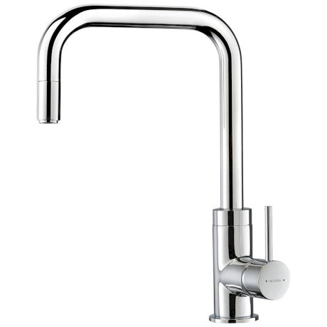 Methven Minimalist Square Gooseneck Sink Mixer 01-2381 | Chrome |