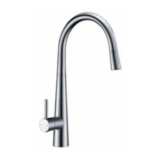 Profile Gooseneck Pull Out Sink Mixer | Chrome |