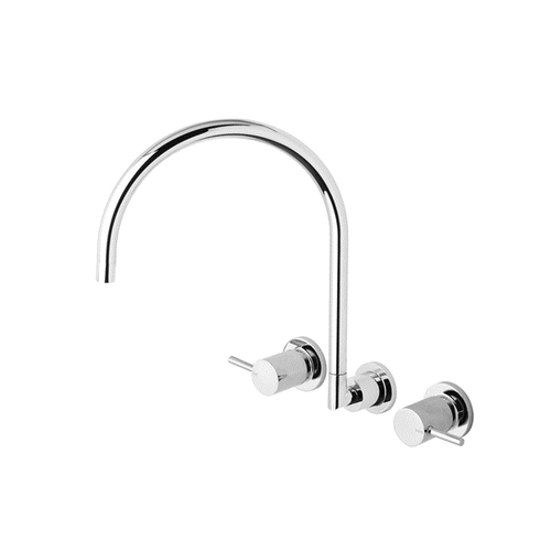 Phoenix Vivid Wall Sink Set 220mm VP810 CHR | Chrome |