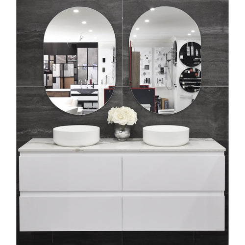 Alles Plus 1500mm Wall Hung Vanity Cabinet | Satin White |
