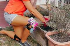 Tropical Rainbow Kneepads Gardening Use
