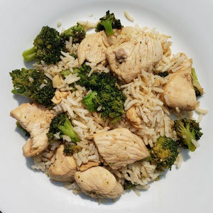Sesame Chicken and Broccoli