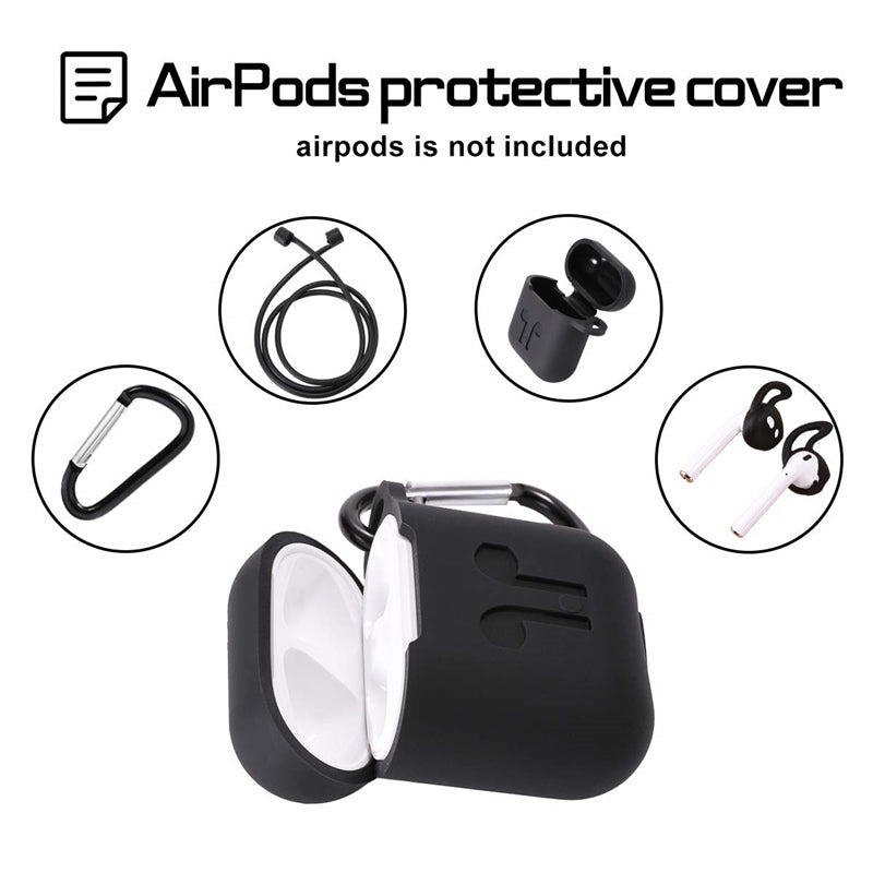 4-In-1 Airpods Silicone Case