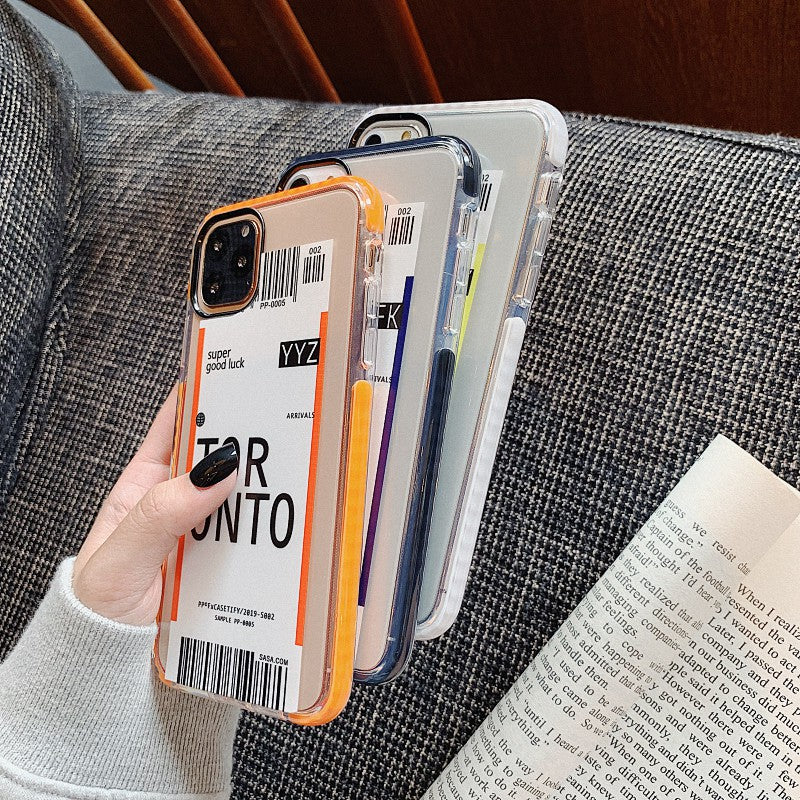 Travel Destination iPhone Case