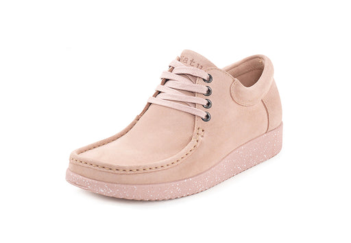 Anna - Suede w. Matching Sole - Baby Pink
