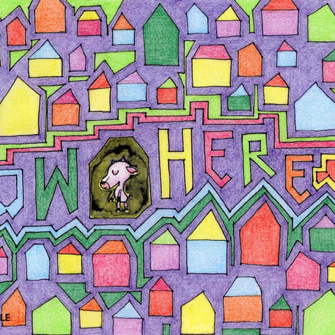 Detail of Now Here coloring page example available as free download on Twinki-Winki goodies page.