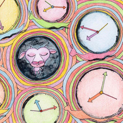 Detail of Time Slithered By coloring page example available as free download on Twinki-Winki goodies page.